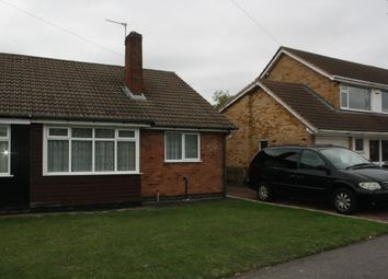 Thumbnail 2 bed semi-detached house for sale in Ash Tree Road, Leicester