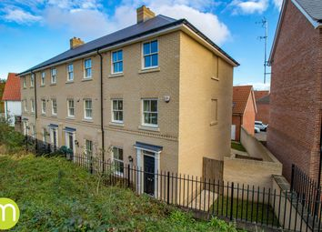 Thumbnail 4 bed town house for sale in Butterfly Trail, Stanway, Colchester