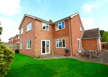 Thumbnail 4 bed detached house for sale in Huntham Close, Stoke-St-Gregory, Taunton, Somerset