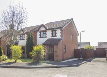 Thumbnail 3 bed detached house for sale in Tegfan Court, Henllys, Cwmbran