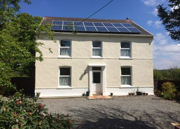 Thumbnail 4 bed detached house for sale in Maesybont, Llanelli