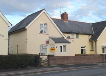 Thumbnail 3 bed semi-detached house for sale in Penyval Road, Abergavenny