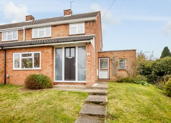 Thumbnail 3 bed end terrace house for sale in Woodcroft Avenue, Stanstead Abbotts, Ware, Hertfordshire