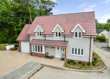 Thumbnail 4 bed detached house for sale in The Street, Sturmer, Haverhill