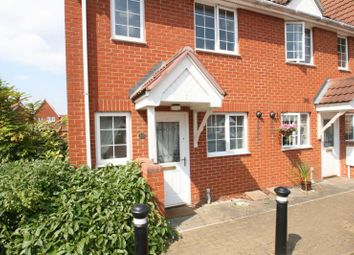 Thumbnail 2 bed end terrace house to rent in Jovian Way, Colchester, Essex