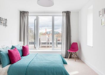 Thumbnail 3 bedroom flat for sale in Wells Mews At Aspire, Bowes Road, London