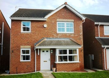 Thumbnail 4 bed detached house for sale in Parkside Gardens, Widdrington, Morpeth