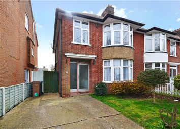 Thumbnail 3 bed semi-detached house for sale in Barton Road, Felixstowe