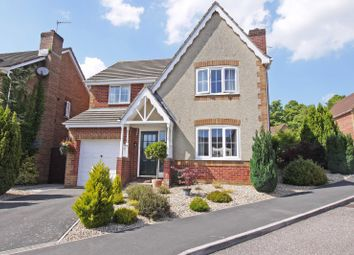 Thumbnail 4 bed detached house for sale in Pridhams Way, Exminster, Exeter