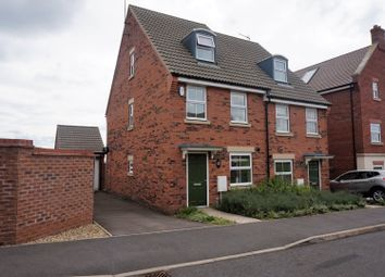 Thumbnail 3 bed semi-detached house for sale in Meadowsweet Road, Northampton