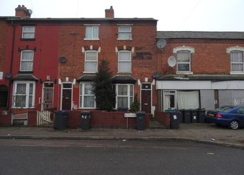 Thumbnail 3 bed terraced house for sale in Hutton Road, Handsworth