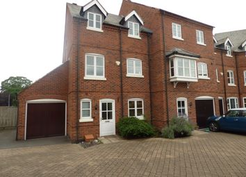Thumbnail 4 bed town house to rent in 21 Weavers Close, Quorn, Leicestershire