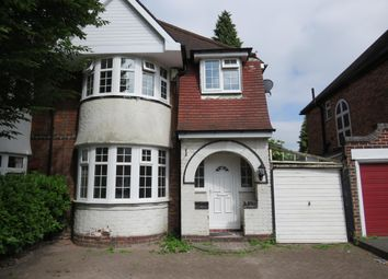 Thumbnail 3 bed property to rent in Shirley Road, Hall Green, Birmingham