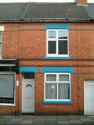Thumbnail 3 bedroom terraced house to rent in Cromer Street, Leicester
