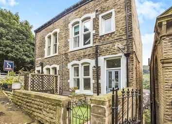 Thumbnail 4 bed semi-detached house for sale in Osborne Street, Hebden Bridge