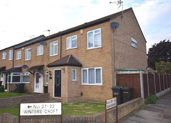 Thumbnail 3 bed end terrace house for sale in Winters Croft, Gravesend, Kent