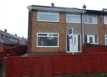 Thumbnail 3 bedroom end terrace house to rent in Runswick Road, Eston