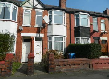 Thumbnail 3 bed terraced house to rent in Dorset Road, Levenshulme, Manchester.
