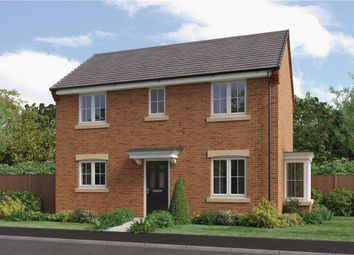 "Thumbnail 3 bedroom detached house for sale in ""The Darwin Da"" at Ladyburn Way, Hadston, Morpeth"