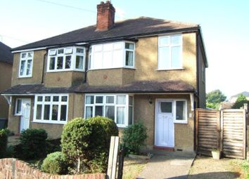 Thumbnail 3 bed semi-detached house to rent in Lindsay Road, New Haw, Addlestone