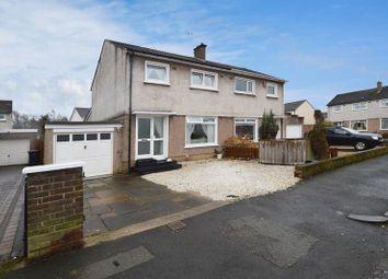 Thumbnail 3 bed semi-detached house for sale in Pentland Drive, Renfrew