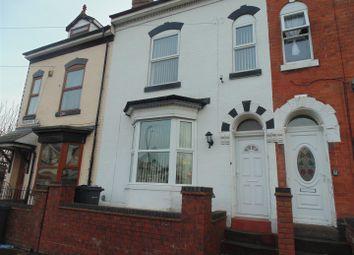 Thumbnail 4 bed terraced house for sale in Western Road, Erdington, Birmingham
