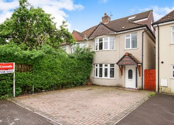 Thumbnail 3 bed semi-detached house for sale in Hill Street, Kingswood, Bristol