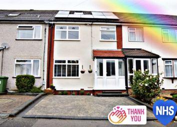 Thumbnail 5 bed terraced house for sale in Limerick Gardens, Cranham, Upminster
