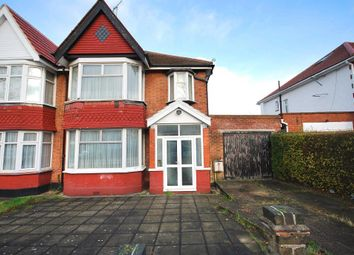 Thumbnail 3 bed semi-detached house for sale in Kingsway, Wembley, Middlesex
