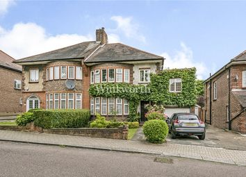 Thumbnail 4 bed semi-detached house for sale in Saddlescombe Way, Woodside Park, London