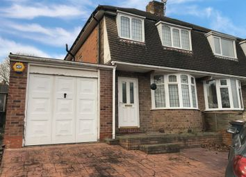 Thumbnail 3 bed semi-detached house to rent in Aversley Road, Kings Norton, Birmingham