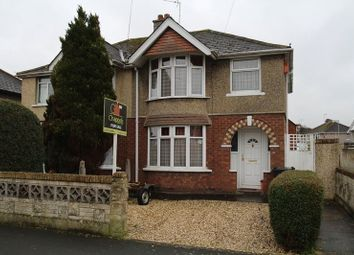 Thumbnail 3 bed semi-detached house for sale in Cumberland Road, Old Walcot, Swindon