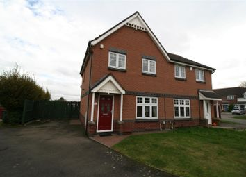 Thumbnail 3 bed semi-detached house for sale in Rivermead, Nuneaton