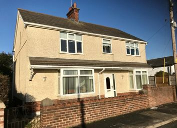 Thumbnail 4 bed detached house for sale in Spon Green, Buckley
