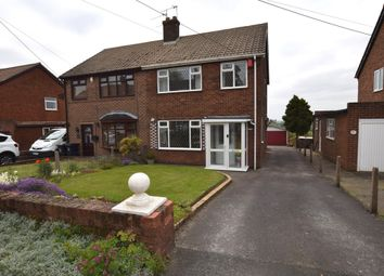 Thumbnail 2 bed semi-detached house for sale in Leycett Road, Scot Hay, Newcastle-Under-Lyme