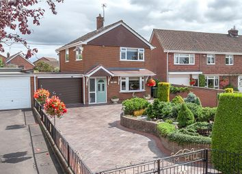 Thumbnail 3 bed detached house for sale in Prescott Road, Baschurch, Shrewsbury