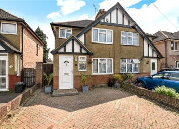 Thumbnail 3 bed semi-detached house for sale in Glisson Road, Hillingdon, Middlesex