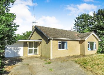 Thumbnail 2 bedroom detached bungalow for sale in Welney Road, Lakes End, Wisbech