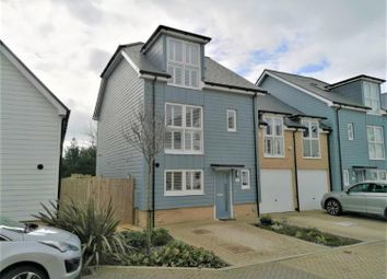 Thumbnail 4 bed semi-detached house for sale in Trinity Drive, Folkestone, Kent