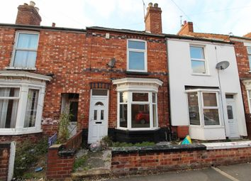 Thumbnail 3 bed terraced house for sale in Stanley Street, Gainsborough
