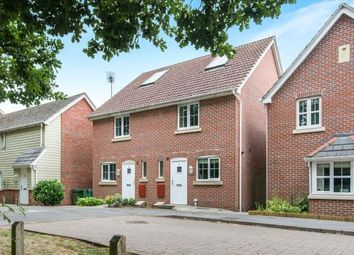 Thumbnail 2 bedroom semi-detached house for sale in Four Marks, Alton, Hampshire