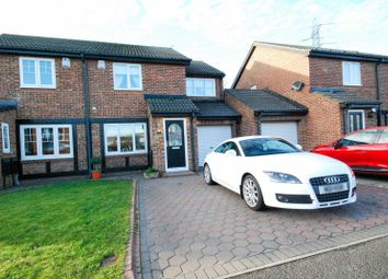 Thumbnail 3 bed semi-detached house for sale in Fareham Grove, Boldon Colliery