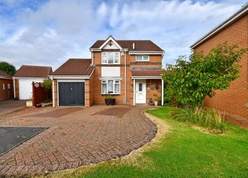 Thumbnail 3 bed detached house for sale in Foxhill Close, Fallowfield, Ashington