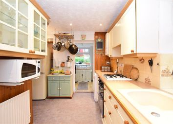 Thumbnail 3 bed semi-detached house for sale in Eversley Road, Seabrook, Hythe, Kent