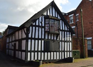 Thumbnail 2 bed town house for sale in Shropshire Street, Market Drayton