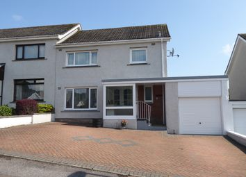 Thumbnail 3 bed semi-detached house for sale in Oakbank Place, Elgin
