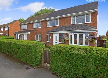 Thumbnail 3 bed semi-detached house for sale in Flaxman Close, Barlaston, Stoke-On-Trent