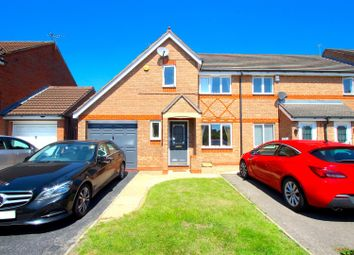 Thumbnail 3 bed end terrace house for sale in Darien Way, Thorpe Astley, Braunstone, Leicester