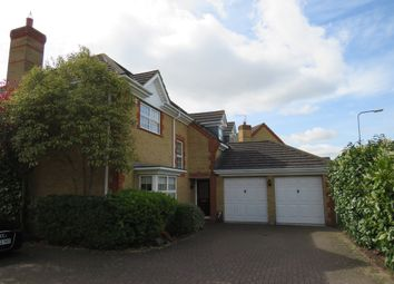 Thumbnail 4 bed detached house for sale in Maida Close, Wootton, Northampton