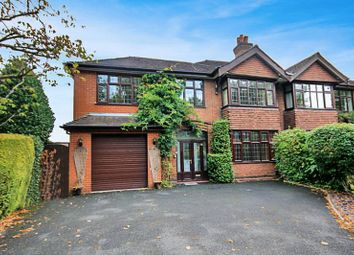 Thumbnail 4 bed semi-detached house to rent in Sneyd Avenue, Newcastle-Under-Lyme